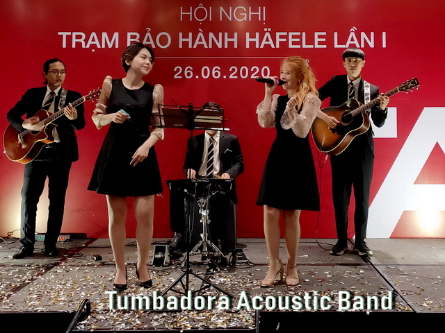Tumbadora Acoustic Band Hafele Gala Dinner 002