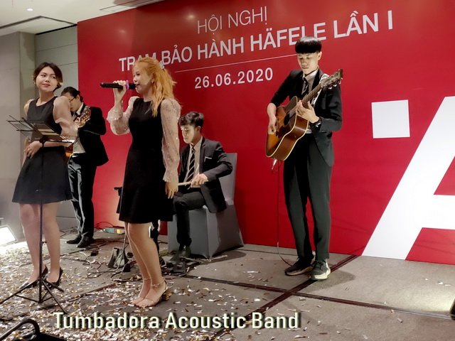 Tumbadora Acoustic Band Hafele Gala Dinner 003
