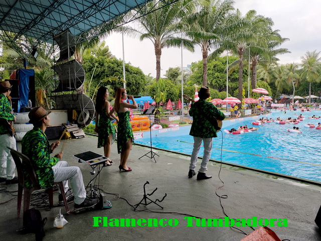 Flamenco Tumbadora Band Dam Sen Water Park 004